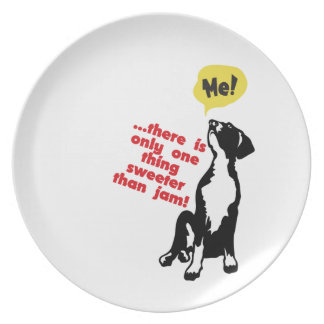 Plate Sweets - Great Dane Puppy