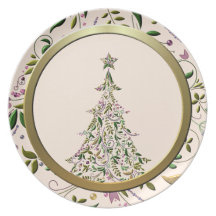 Plate - Tuscany Tree