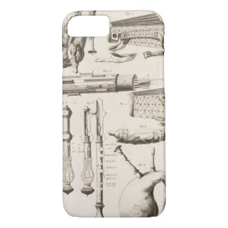 Plate VI: Wind instruments from the Encyclopedia o iPhone 8/7 Case