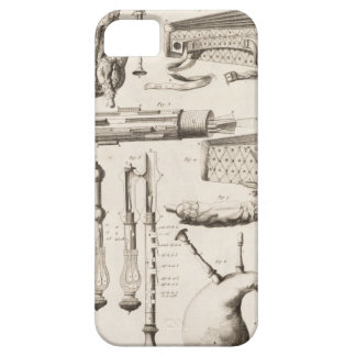 Plate VI: Wind instruments from the Encyclopedia o iPhone SE/5/5s Case