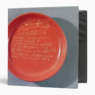 Plate with Celtic text, 1st-2nd century Vinyl Binders
