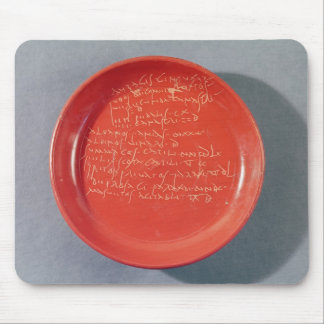 Plate with Celtic text 1st-2nd century Mouse Pad