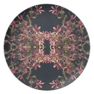 Plate with Jasmine Design
