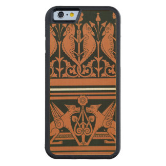 Plate XIV from 'Studies in Design', c.1874-76 (lit Carved Maple iPhone 6 Bumper Case