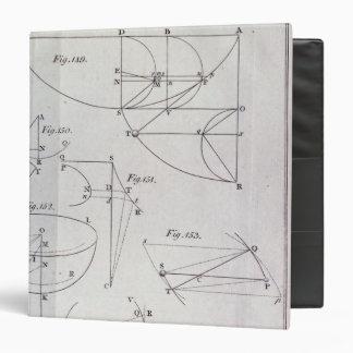 Plate XIX, Illustrating Proposition LXV 3 Ring Binder