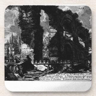 Plate XXXIV by Giovanni Battista Piranesi Drink Coaster
