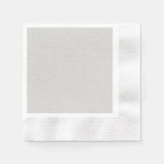 Plateado acolchado servilleta de papel