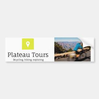 Plateau Tours bumpersticker Car Bumper Sticker