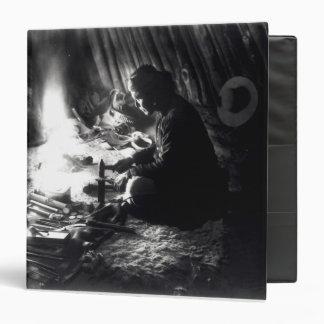 """Platero de Navajo, c.1915 Carpeta 1 1/2"""""""