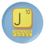 J JENNIFER'S PHONE  Plates