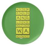 keep calm and love Retha wa Bongz  Plates