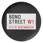 Bond Street  Plates