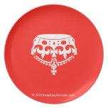 [Crown upside down]  Plates