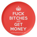 [Crown] fuck bitches and get money  Plates