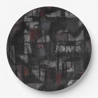 Plates Tango in the rain