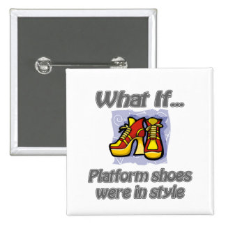 platform shoes button