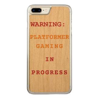 Platformer Gaming In Progress Carved iPhone 8 Plus/7 Plus Case