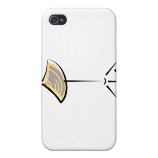 Platillo del desplome en diseño gráfico del extrac iPhone 4 cárcasa