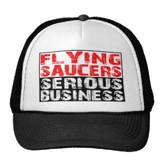 Platillos volantes - negocio serio gorros bordados