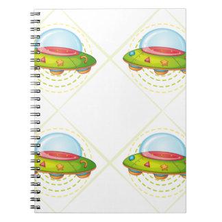 platillos volantes note book