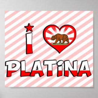 Platina, CA Posters