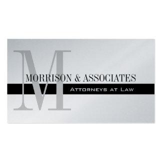 Platino profesional de la tarjeta de visita del ab