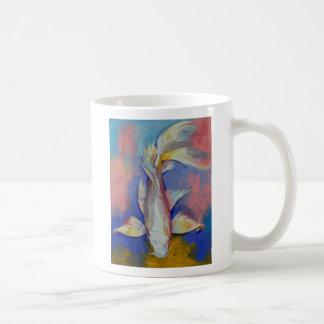 Platinum Butterfly Koi Mug
