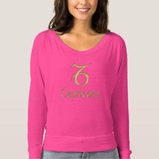 Platinum Gold Zodiac Sign Capricorn Sweatshirt