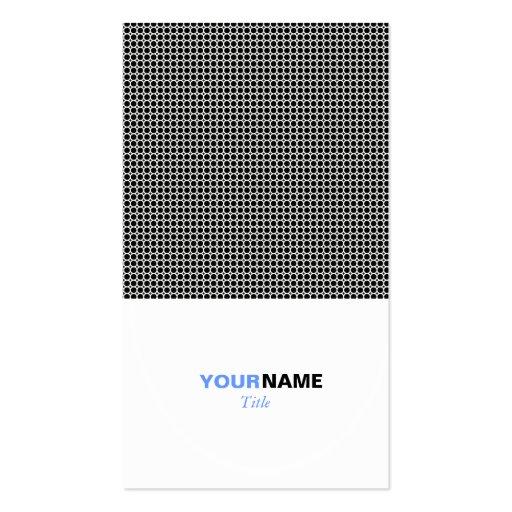Platinum Grid Business Card Templates