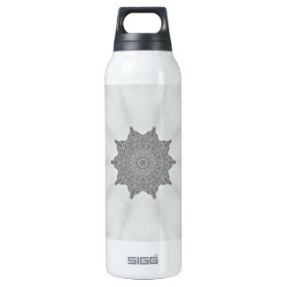 Platinum Morning Glory bottle 16 Oz Insulated SIGG Thermos Water Bottle