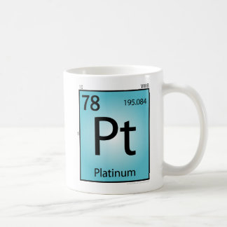 Platinum (Pt) Element Mug