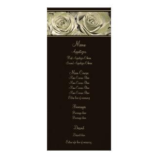 Platinum Rose Wedding Menu