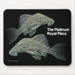 Platinum Royal Pleco Mouse Pad