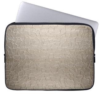 Platinum Stainless Steel Metal Computer Sleeve
