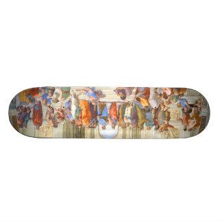 Plato & Aristotle Skateboard