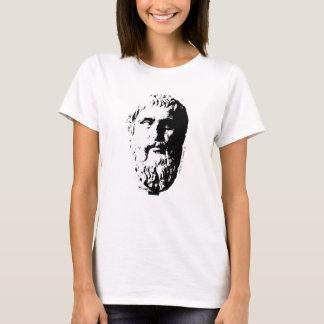 Plato Bust Greek Philosopher Beard Spleeburgen T-Shirt