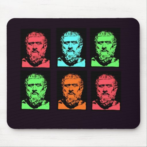 Plato Collage Mousepads