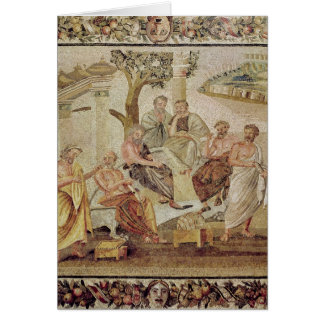 Plato Conversing with his Pupils Card