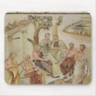 Plato Conversing with his Pupils Mouse Pad