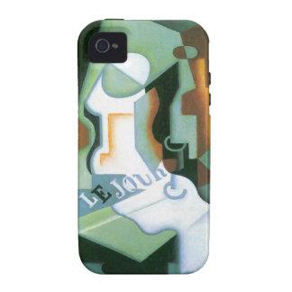 Plato de Juan Gris, cubismo de la botella y de fru iPhone 4/4S Carcasa