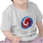Plato del favorito del kajak camisetas