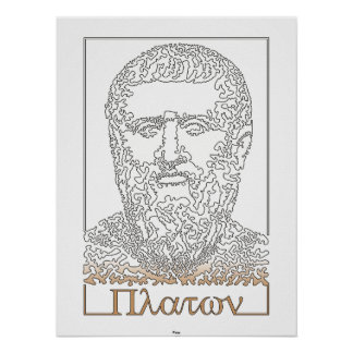 Plato Greek philosopher 014 Print