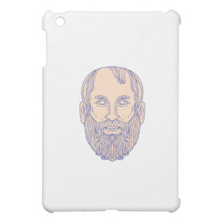 Plato Greek Philosopher Head Mono Line Case For The iPad Mini