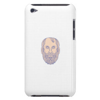 Plato Greek Philosopher Head Mono Line Case-Mate iPod Touch Case