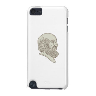 Plato Greek Philosopher Head Mono Line iPod Touch 5G Case