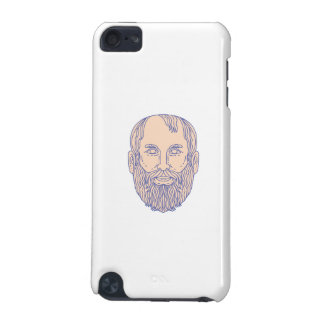 Plato Greek Philosopher Head Mono Line iPod Touch 5G Cover