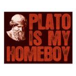 Plato Is My Homeboy Postcard
