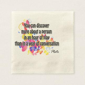 Plato Paper Napkin