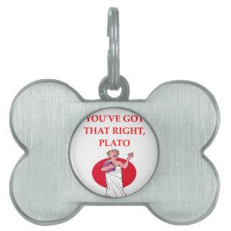 PLATO PET TAG