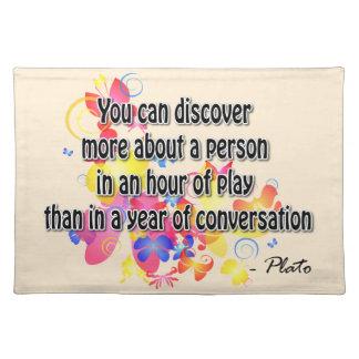 Plato Placemat